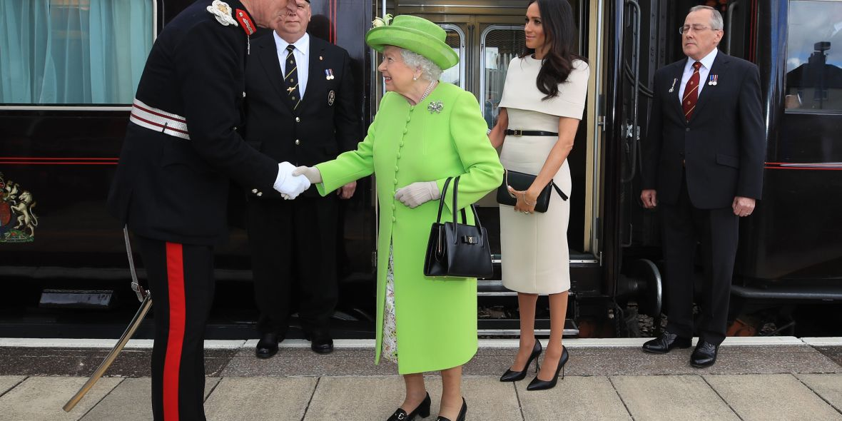 meghan markle queen elizabeth solo outing