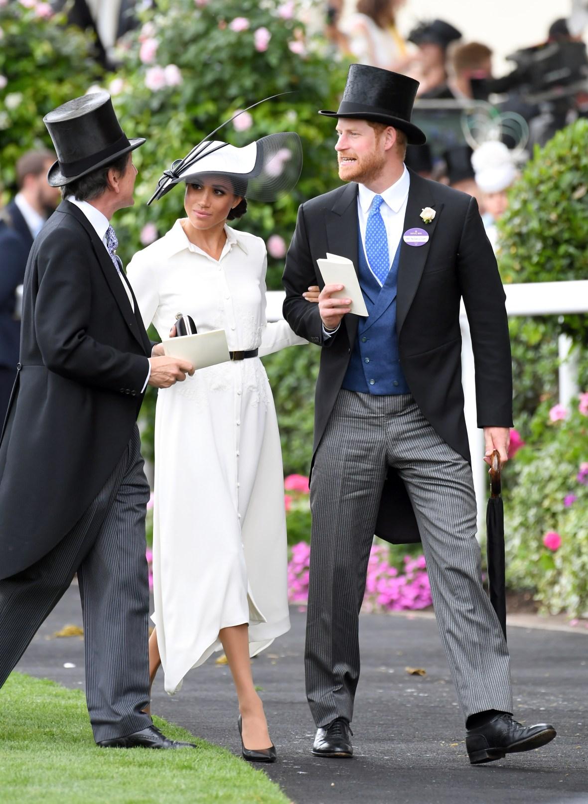 meghan markle royal ascot 2018 getty