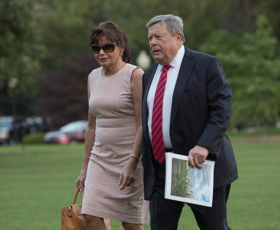 melania trump parents photos getty images