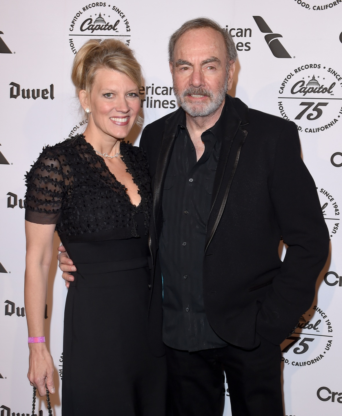 neil diamond and his wife