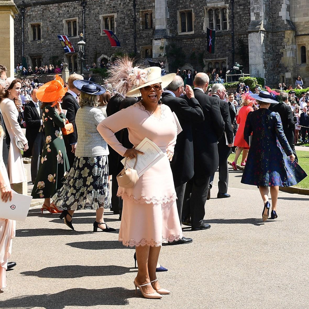 oprah winfrey royal wedding getty images
