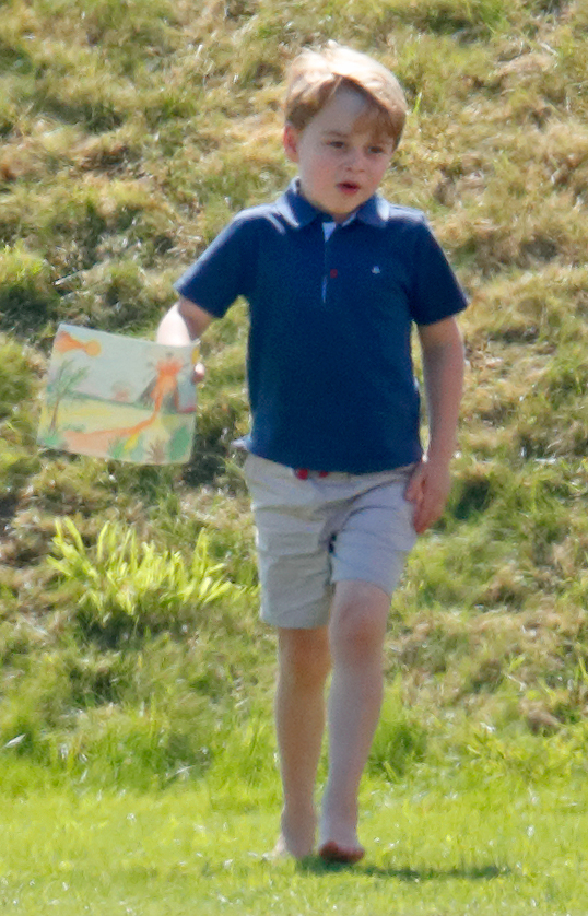 prince george drawing getty images
