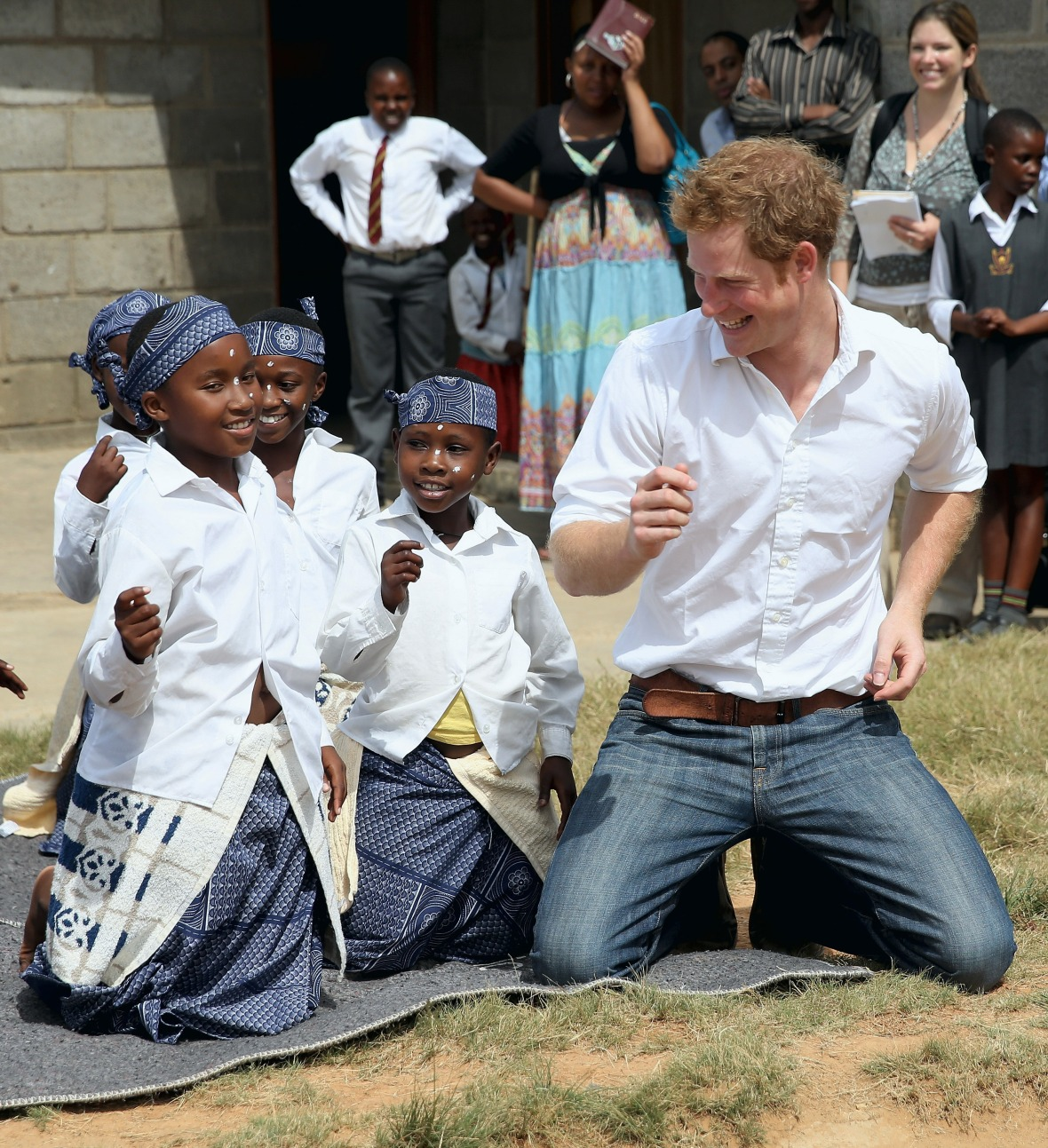 prince harry africa trip
