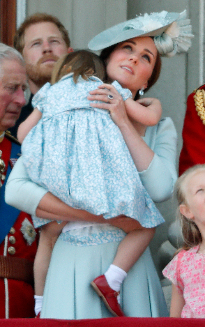 kate middleton princess charlotte getty images