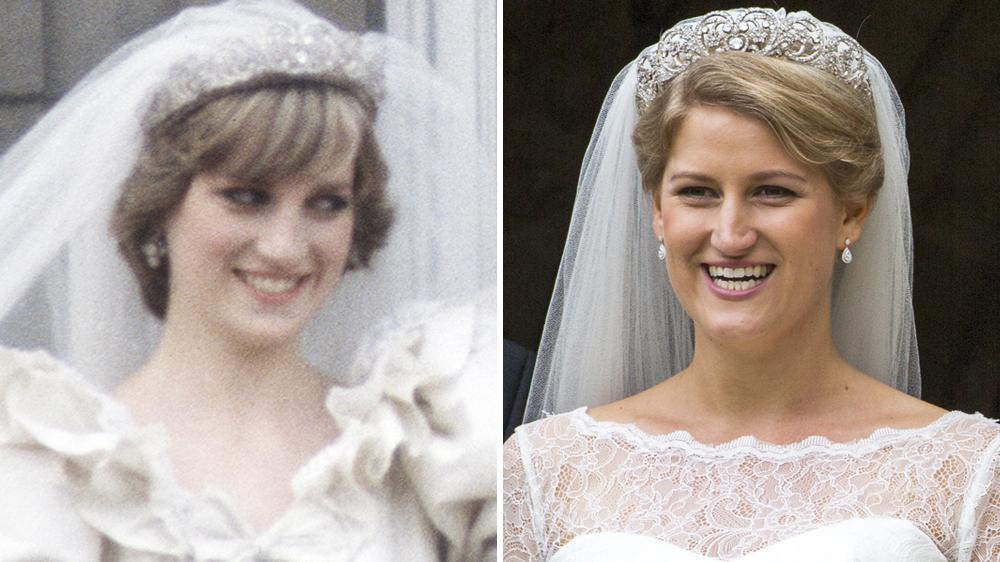 Princess Diana S Niece Wore The Late Royal S Wedding Tiara At Her