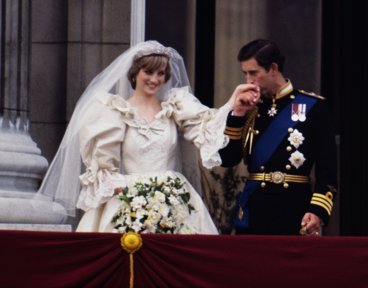 princess diana wedding getty