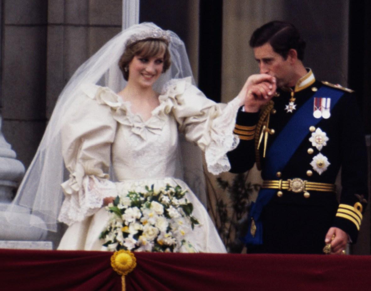princess diana wedding getty