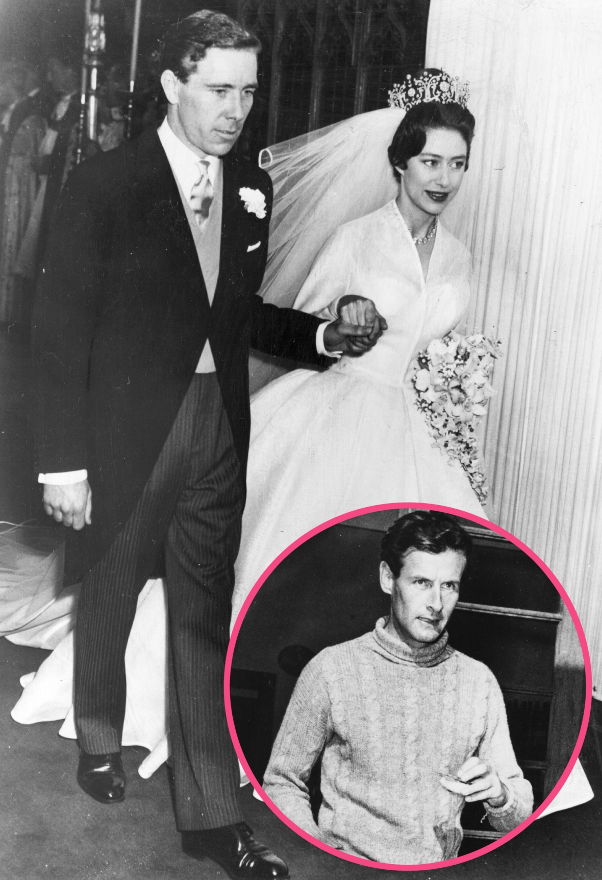 princess margaret peter townsend getty images
