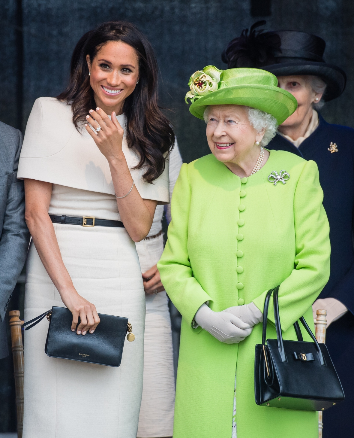 queen elizabeth meghan markle getty images