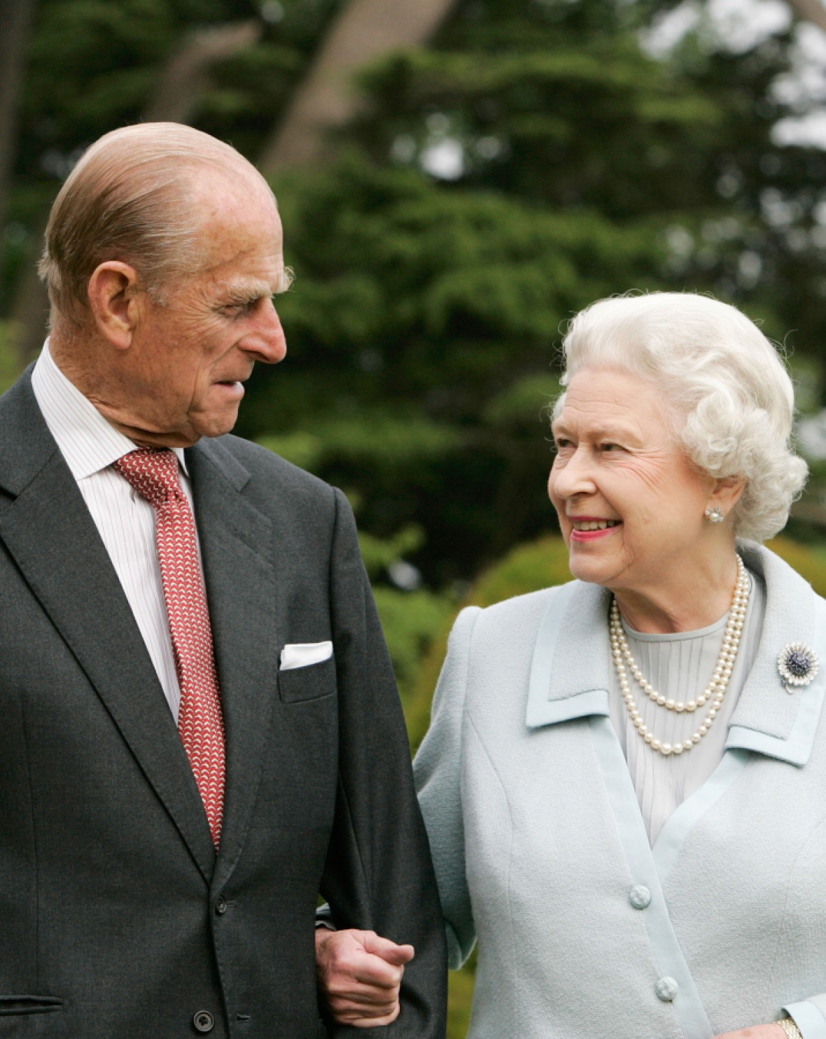queen elizabeth prince philip getty images