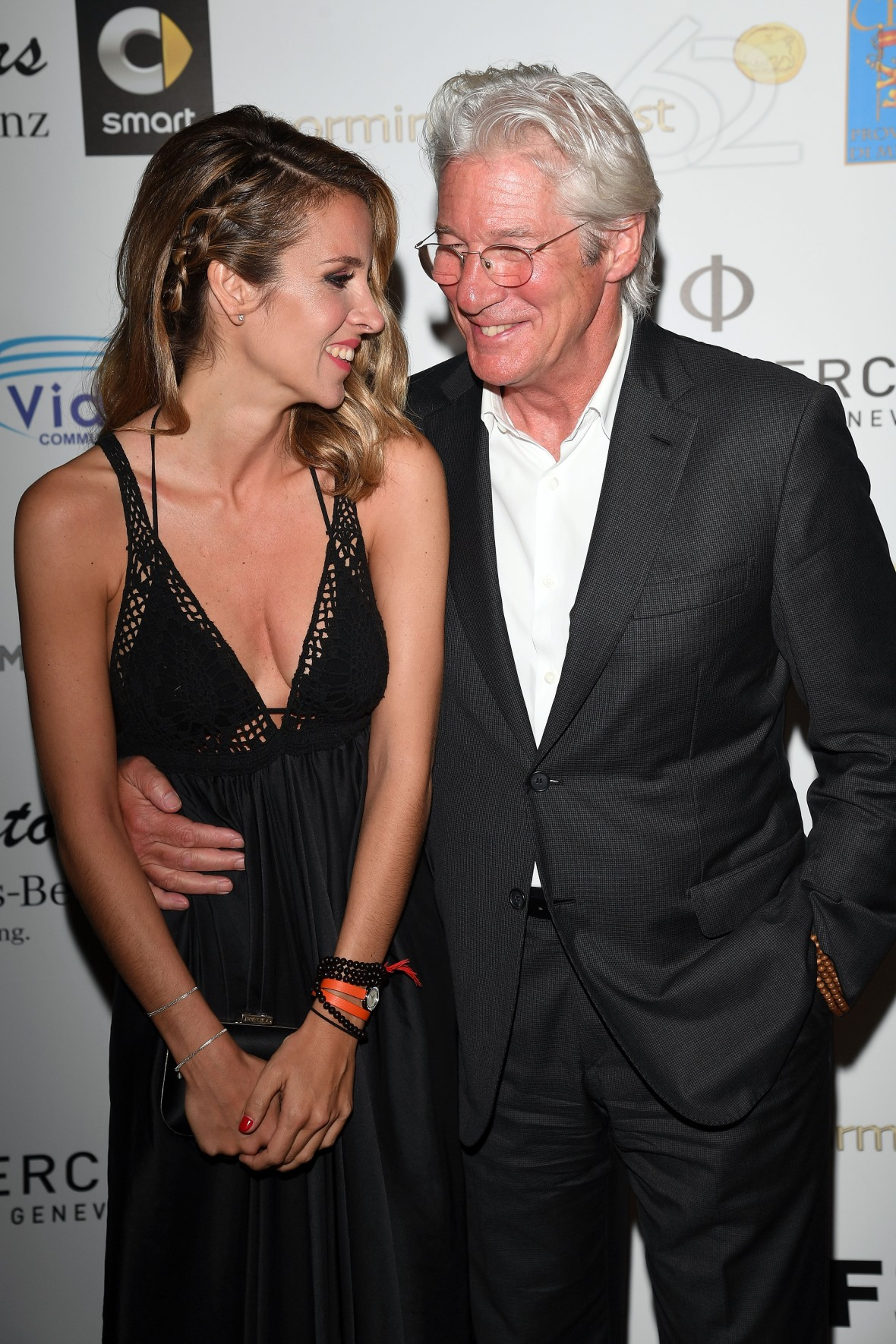 richard gere and alejandra silva getty images