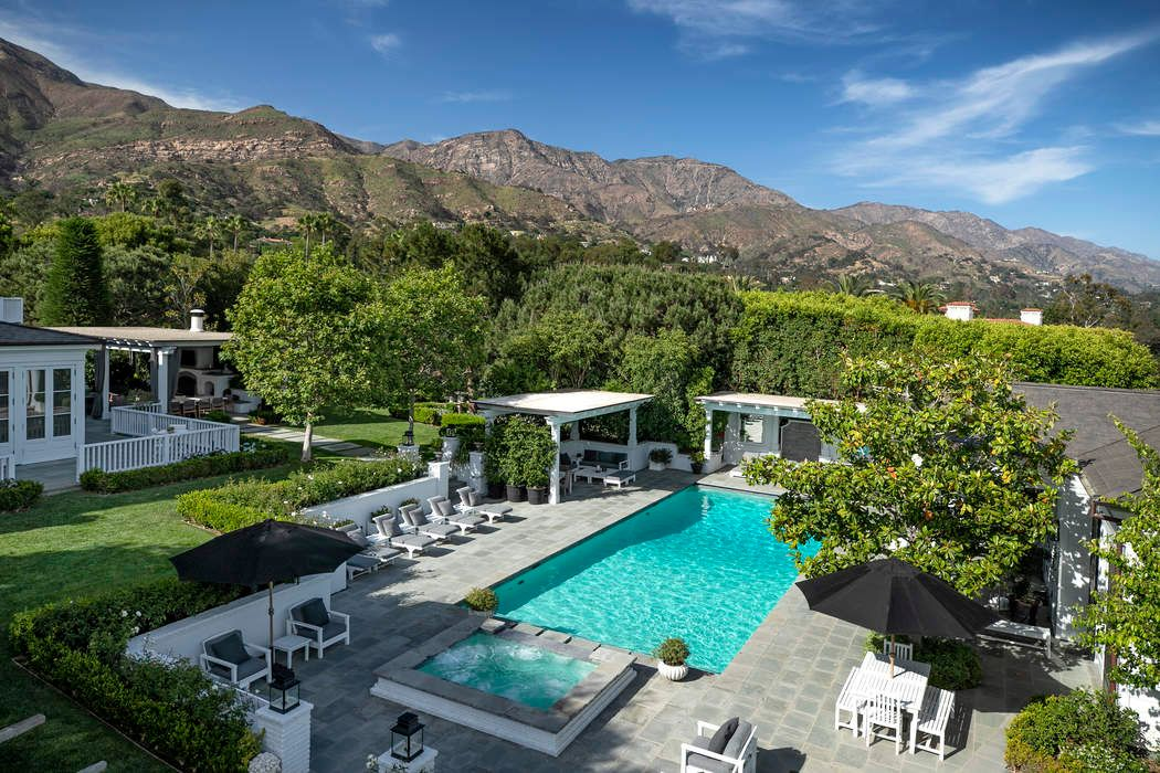 rob lowe's montecito mansion
