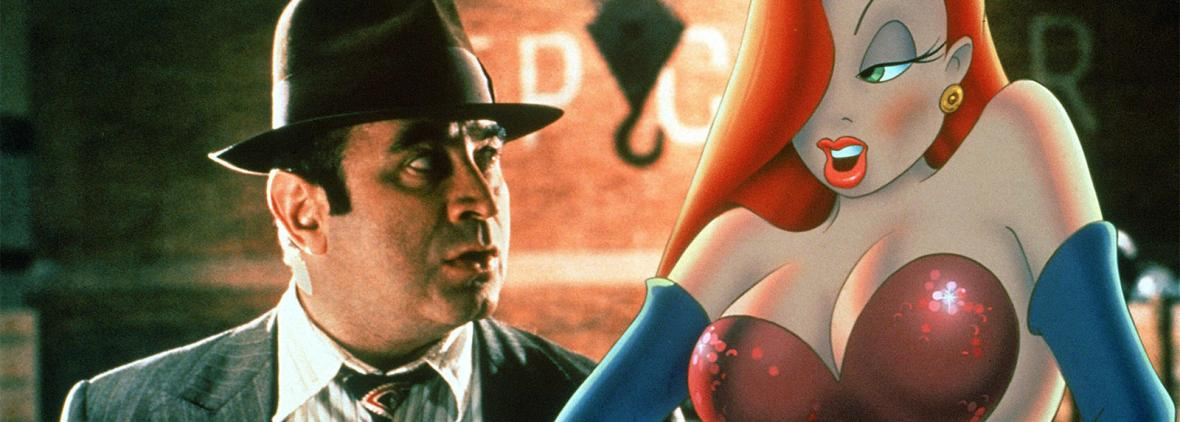 roger rabbit - eddie valiant and jessica rabbit