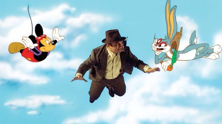 roger rabbit - mickey mouse and bugs bunny