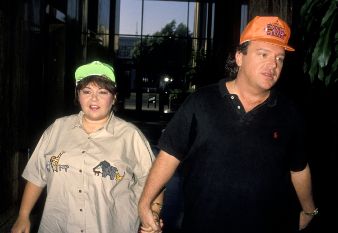 roseanne barr and tom arnold