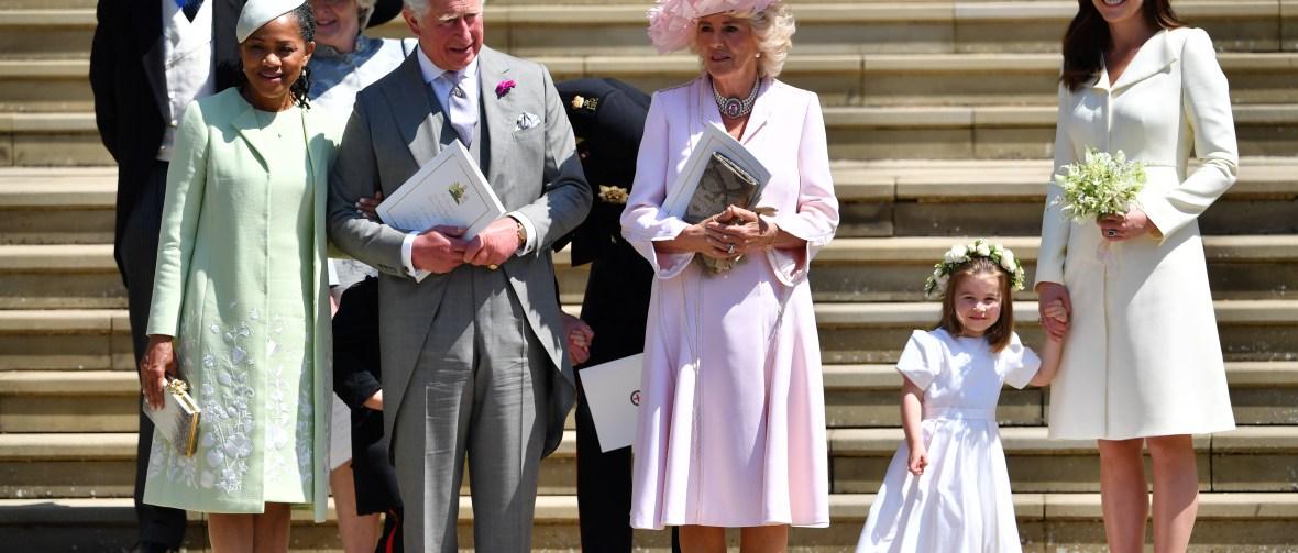 royal wedding doria ragland getty images