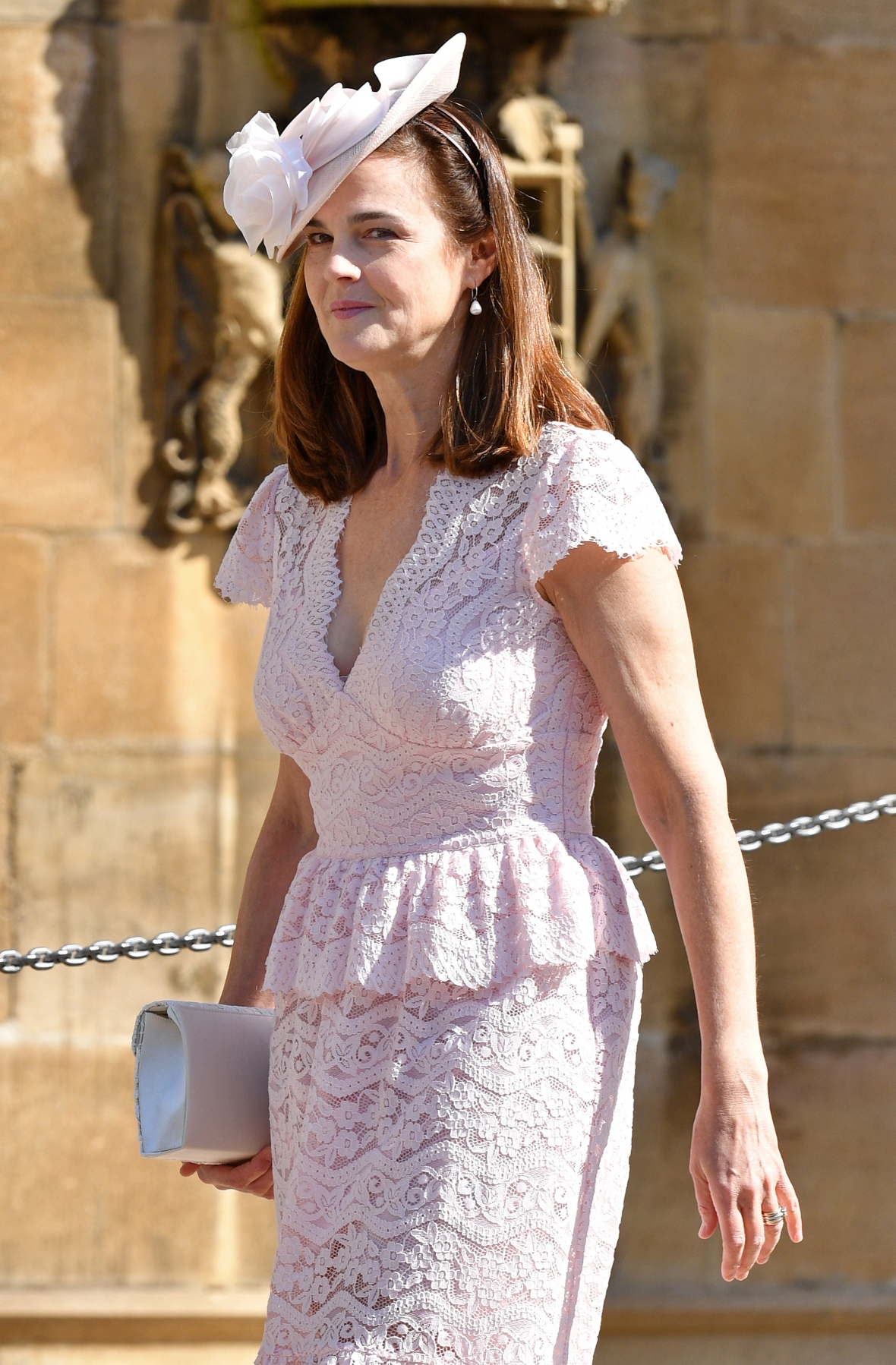 samantha cohen attends royal wedding getty images
