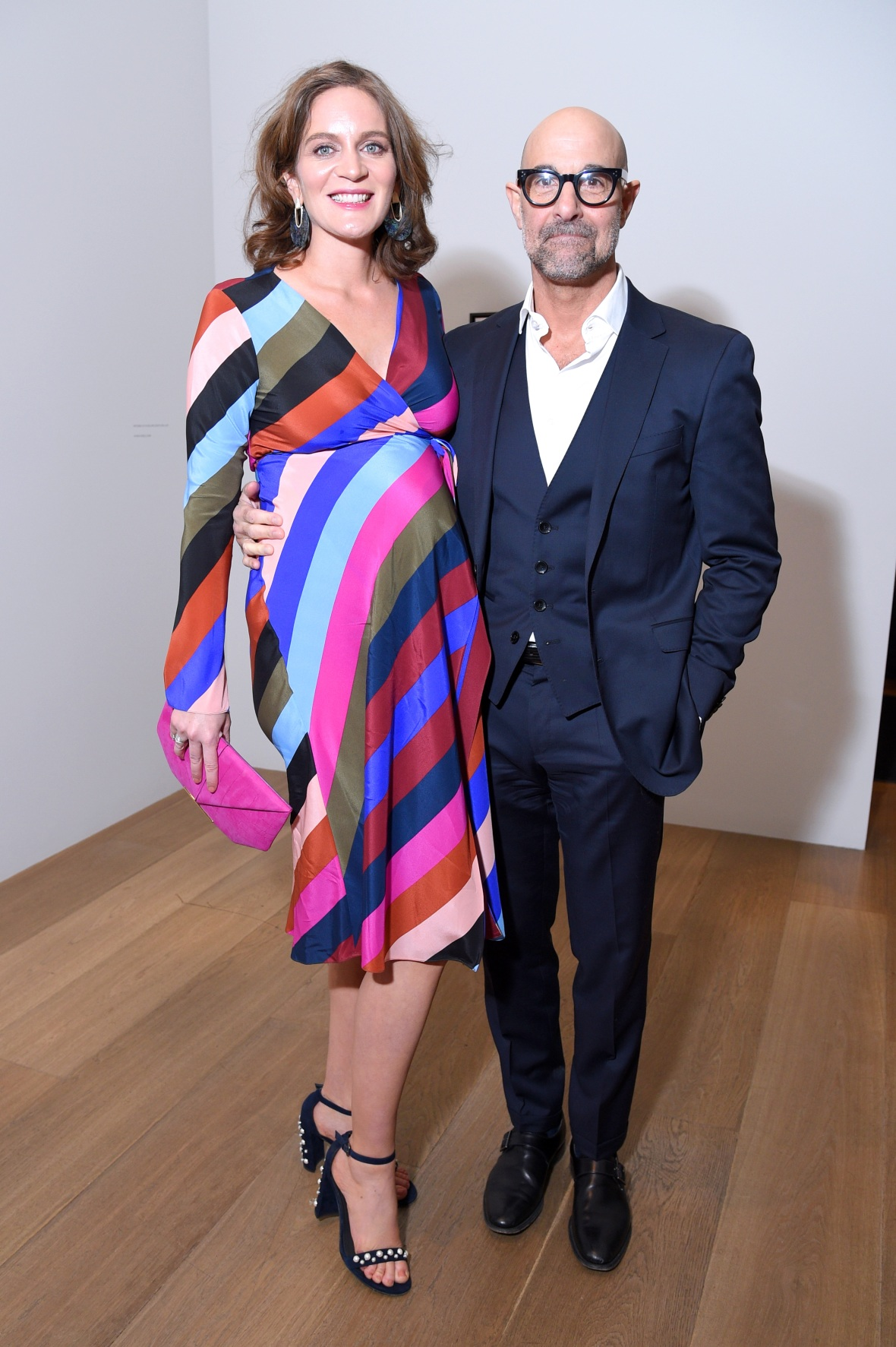 stanley tucci felicity blunt getty images