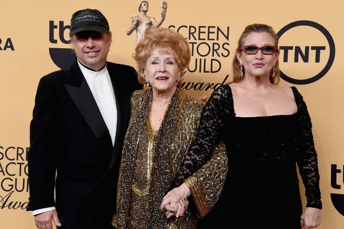 todd fisher carrie fisher debbie reynolds getty images