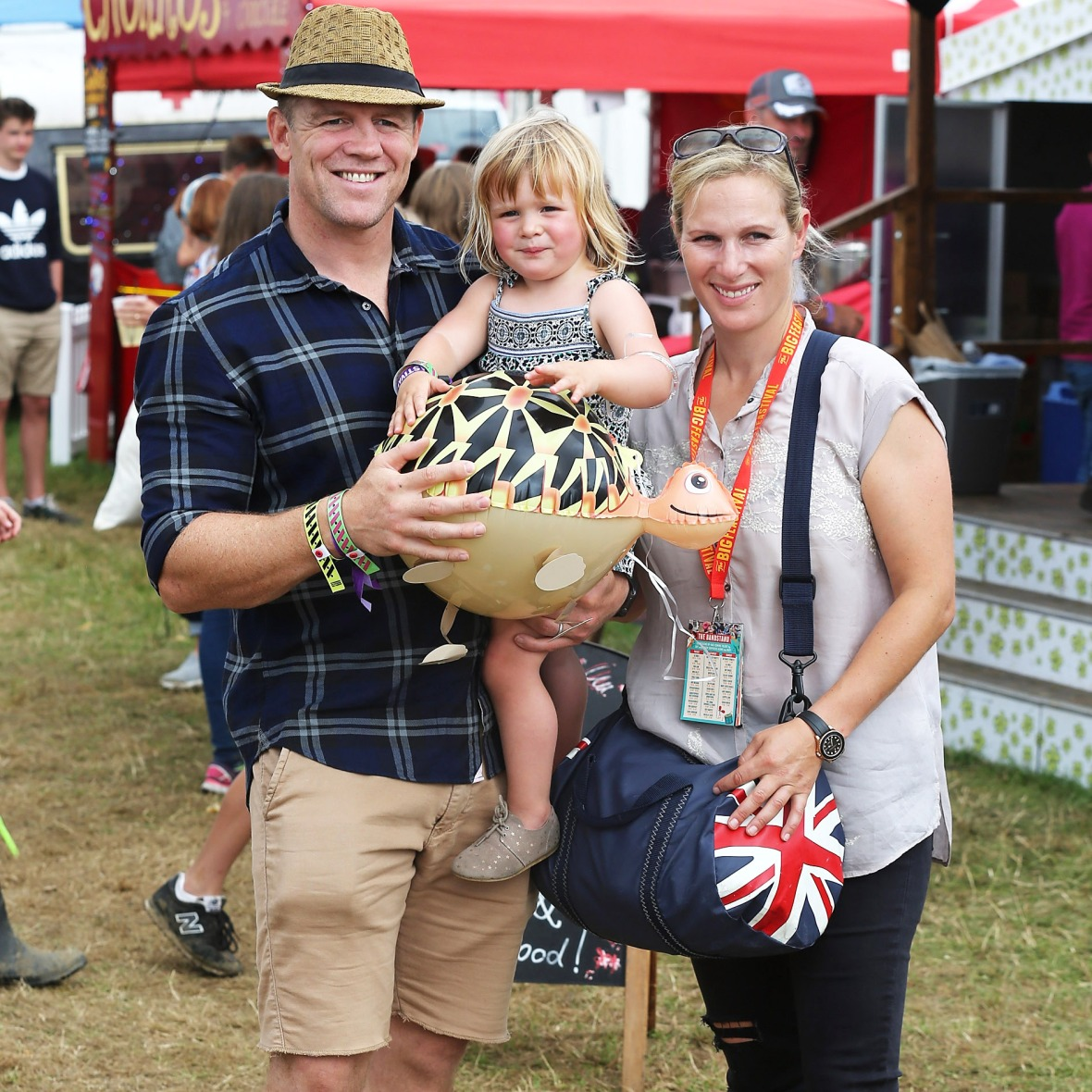 zara tindall family getty images