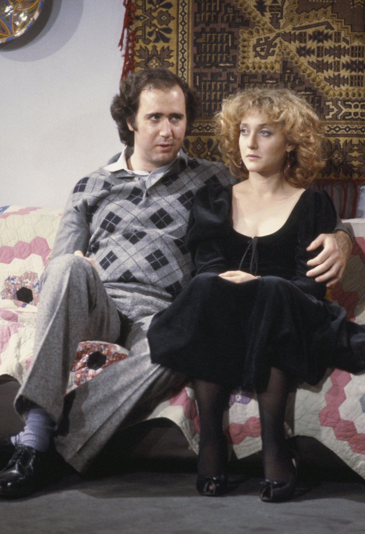carol kane andy kaufman getty images