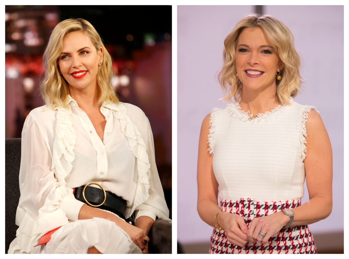 charlize theron and megyn kelly