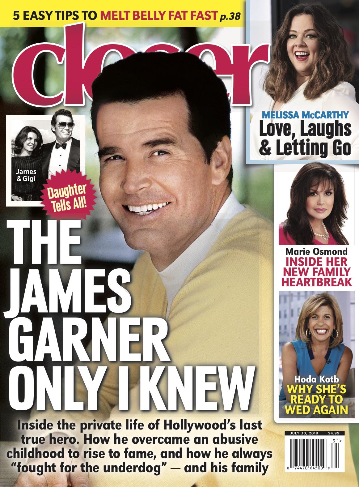 james garner closer cover