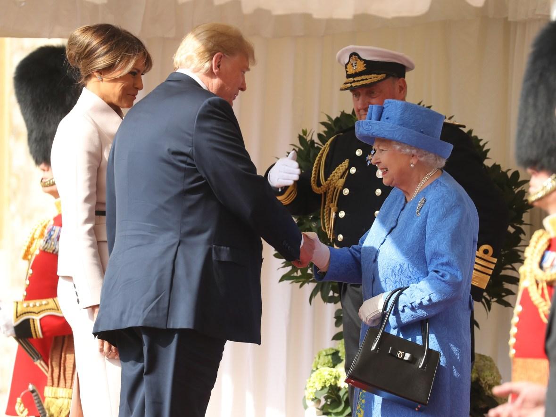 queen elizabeth donald trump