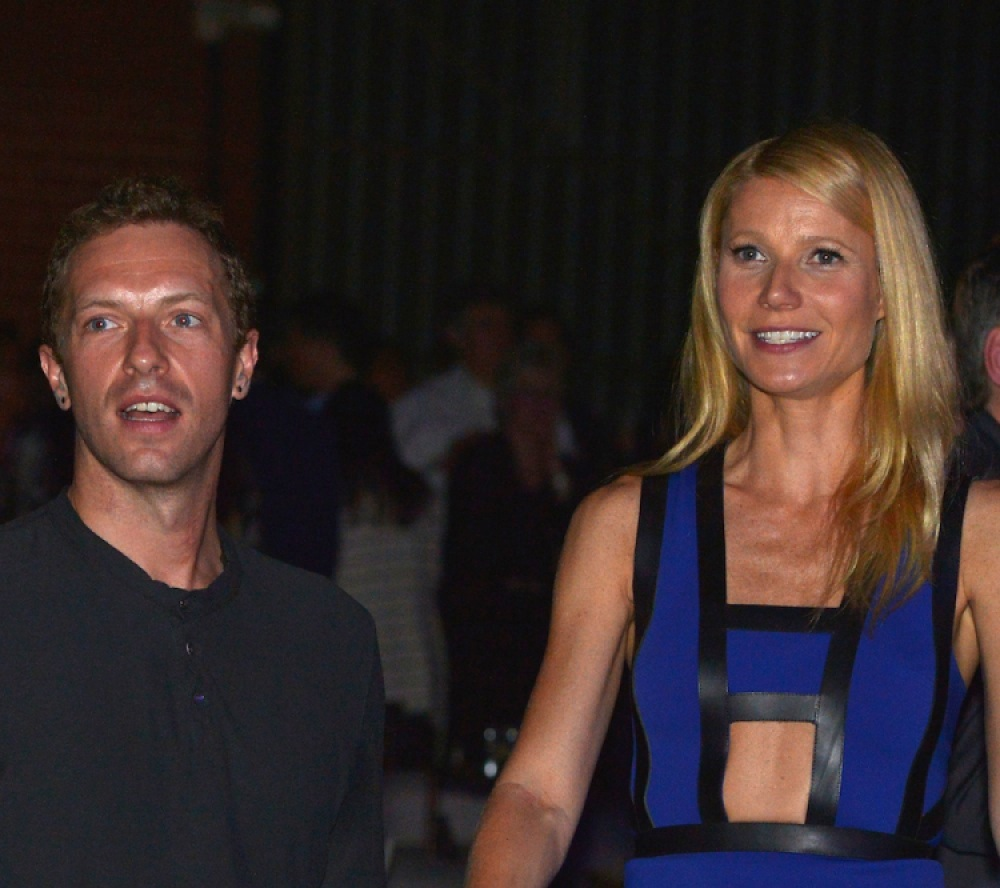 gwyneth paltrow and her ex-husband, chris martin. (photo credit: getty images)