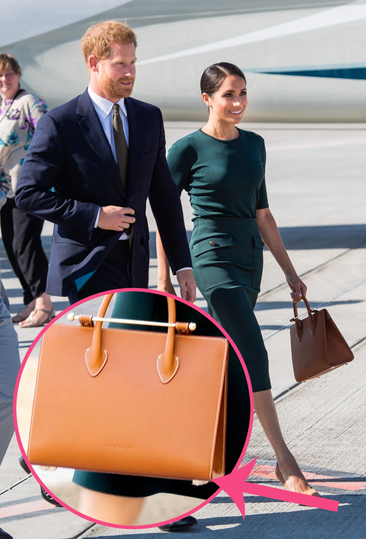 meghan markle strathberry tote