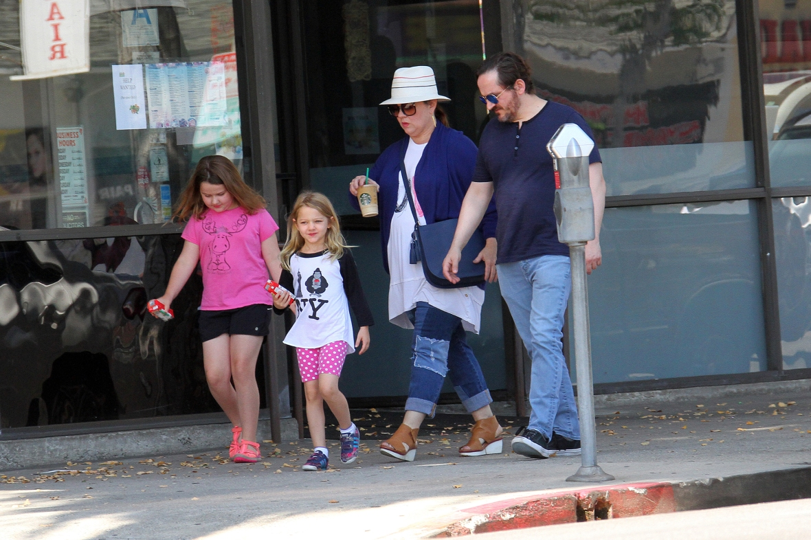 melissa mccarthy and her family