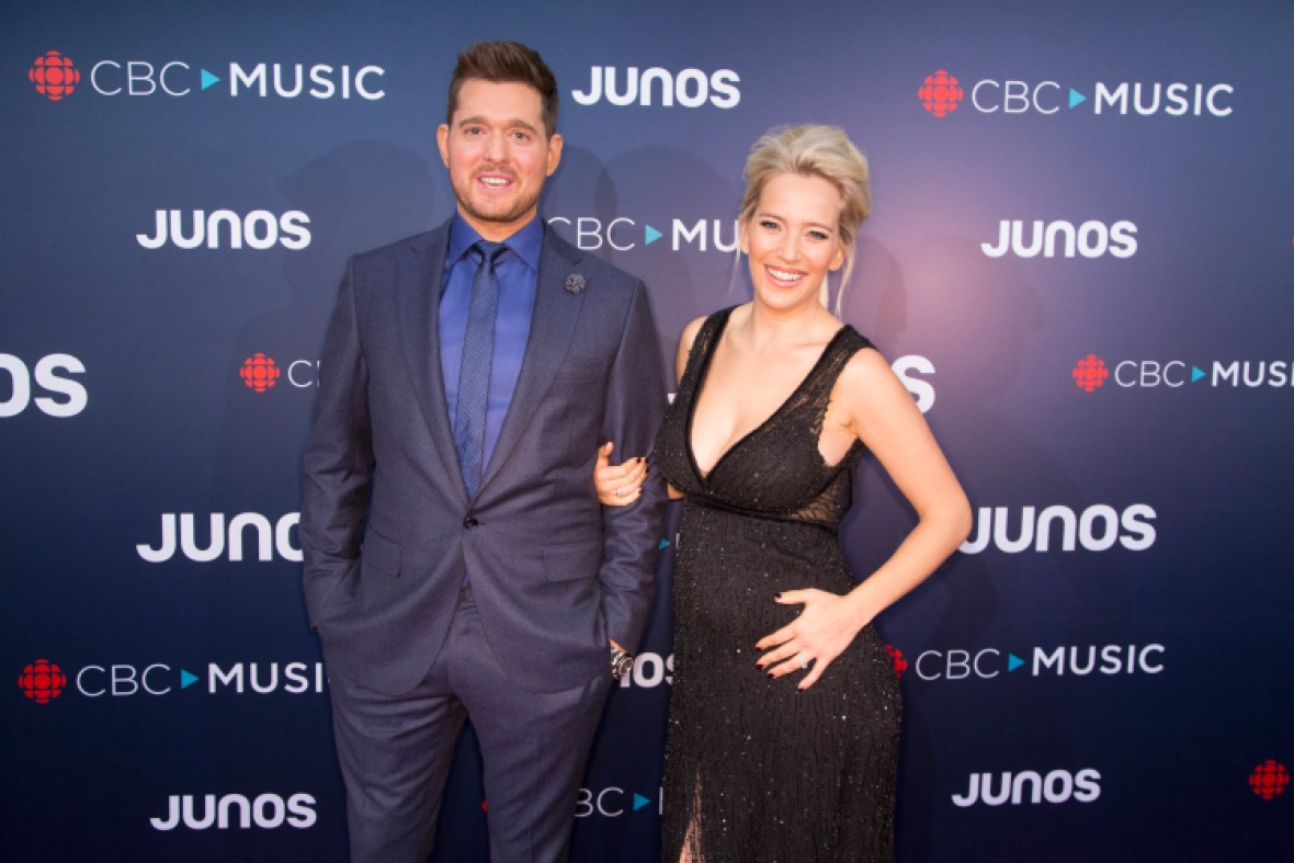 michael buble wife getty images