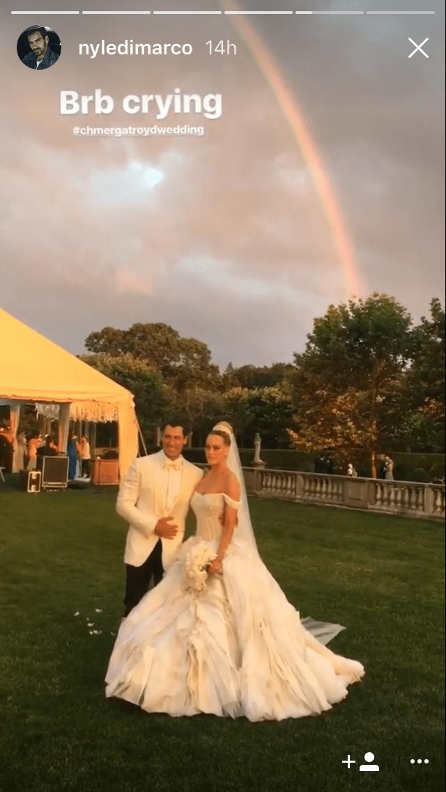 peta murgatroyd wedding dress instagram