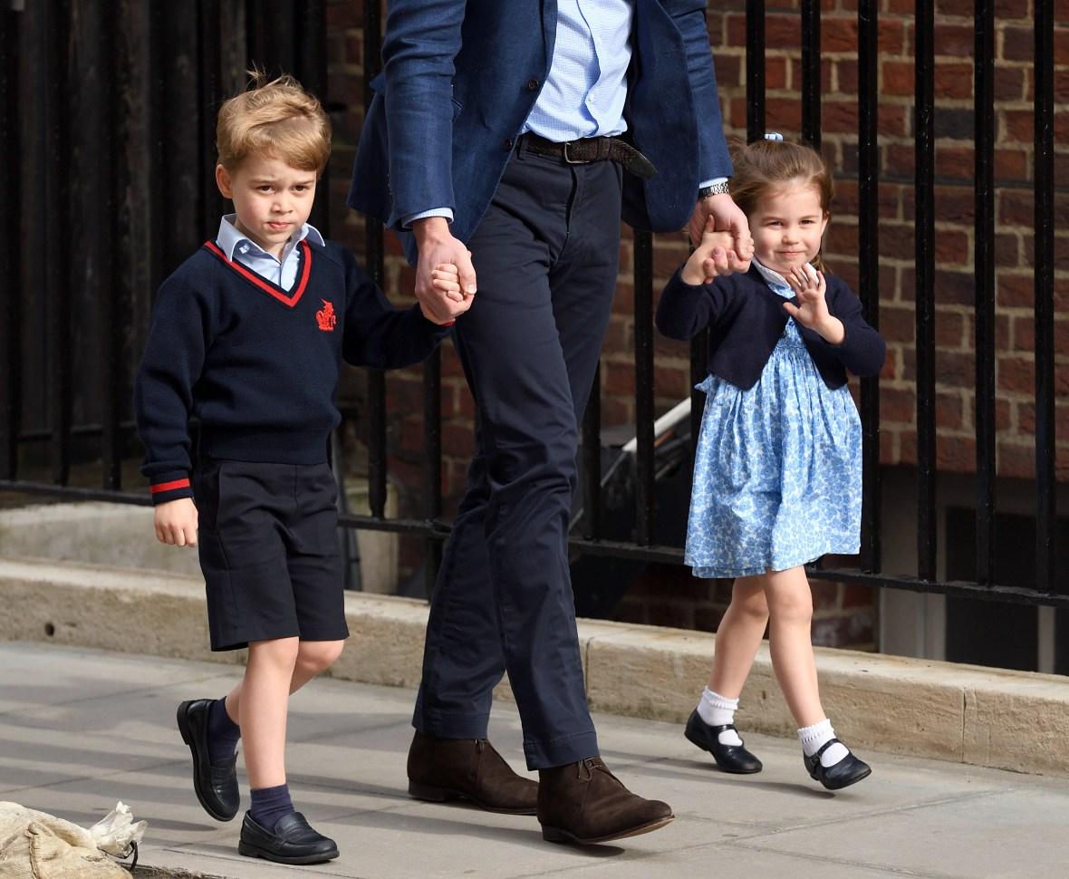 prince george shorts