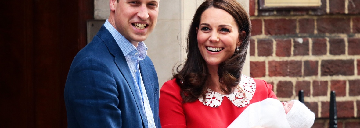 kate, william, and louis