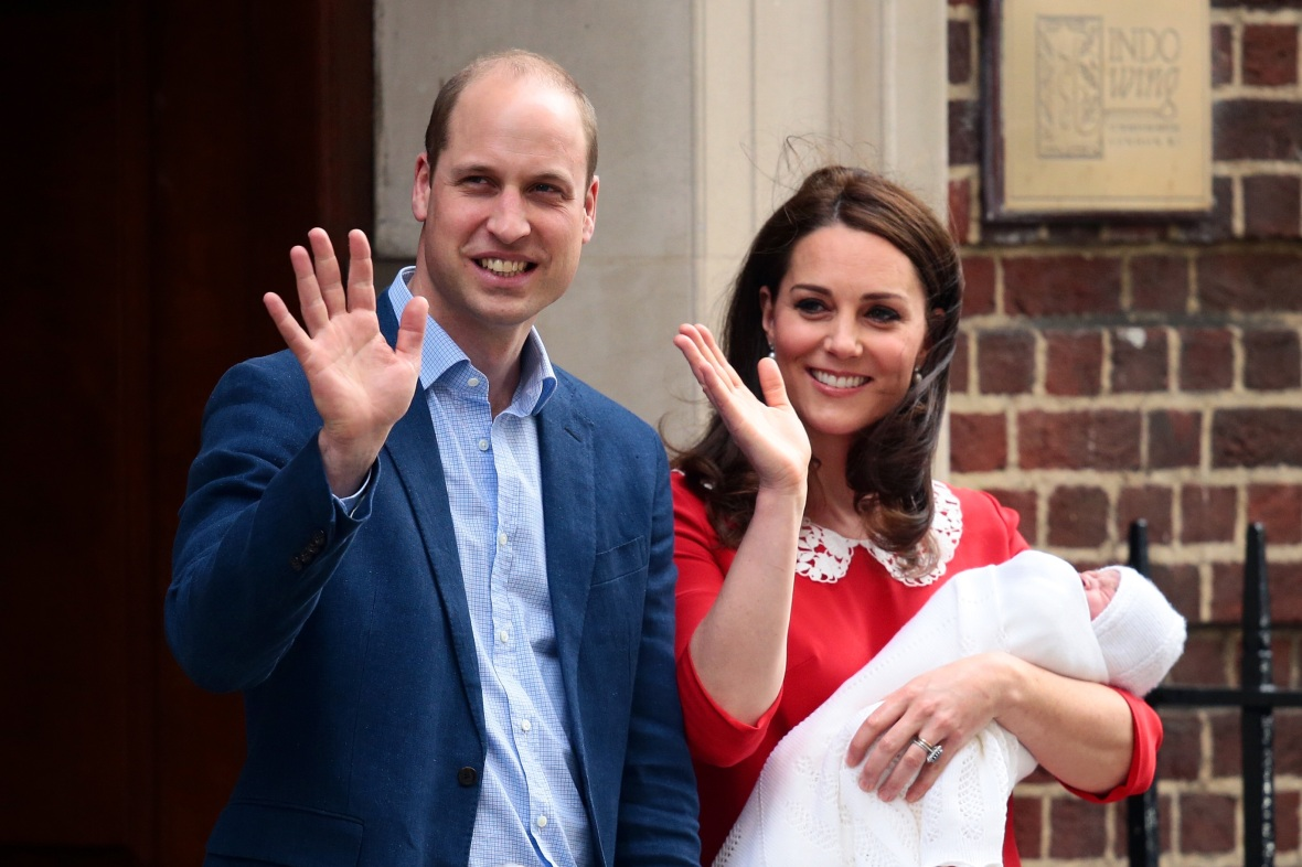 prince louis getty images