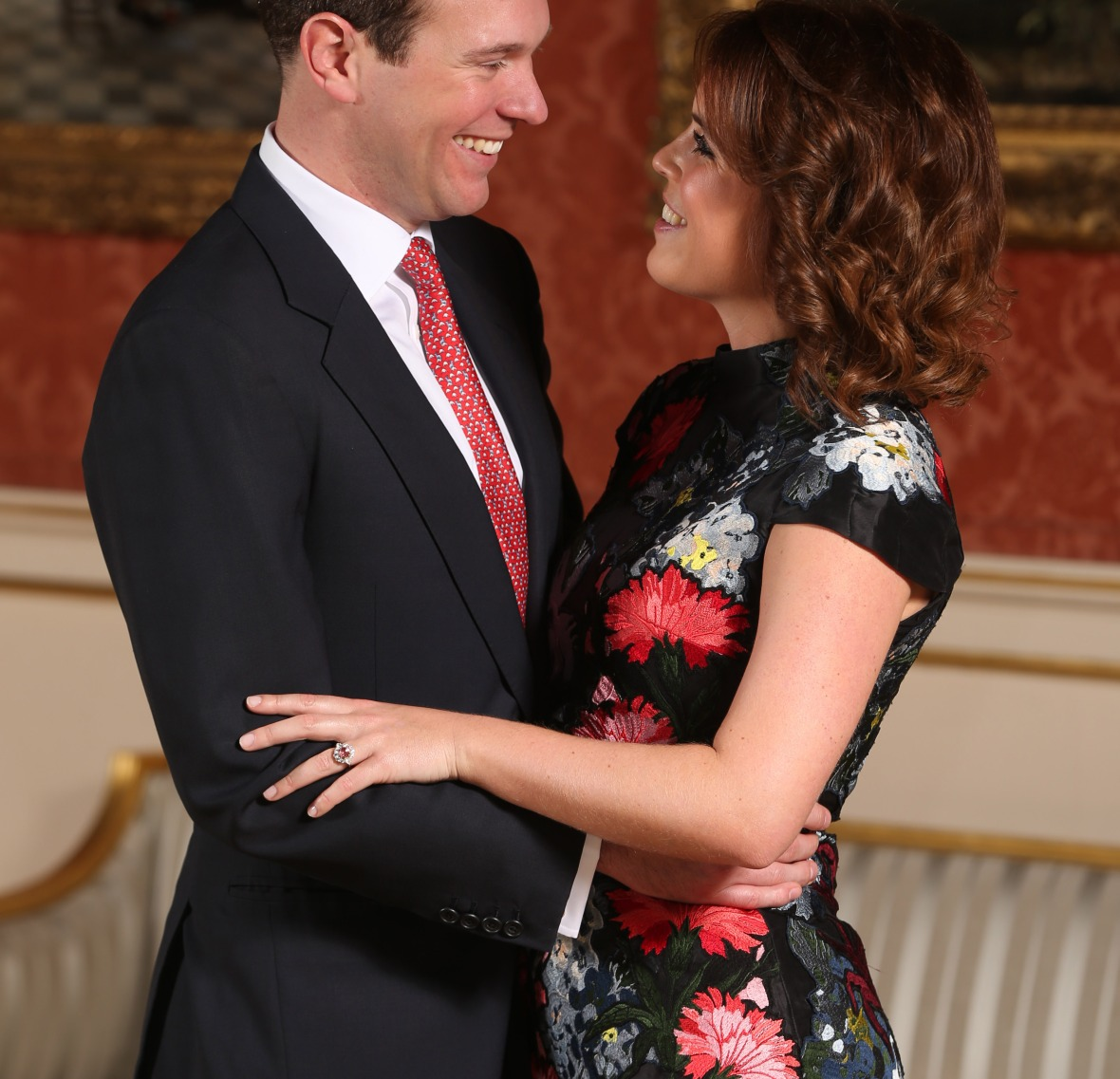 princess eugenie and her fiancé, jack. (photo credit: getty images)