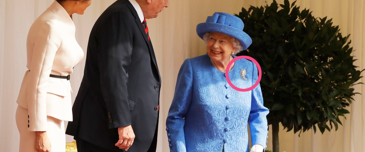 queen elizabeth brooch