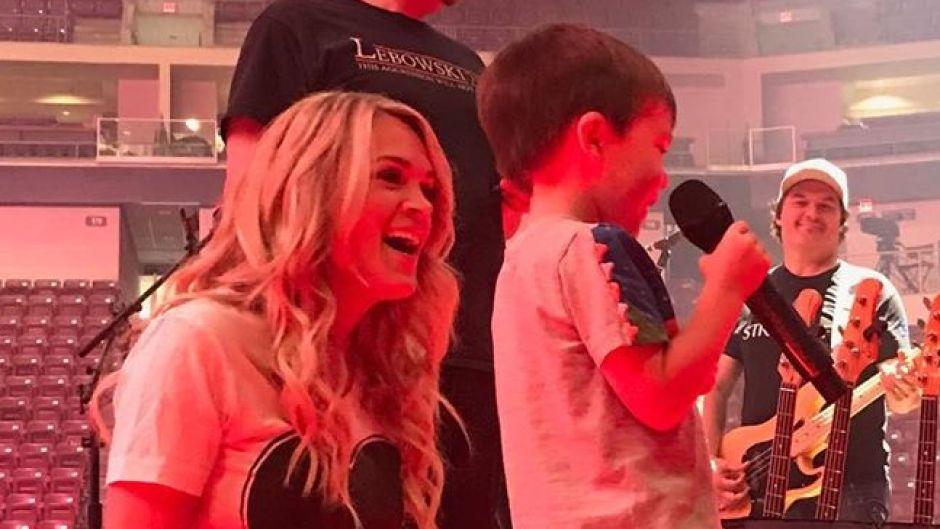 Carrie underwood son Isaiah