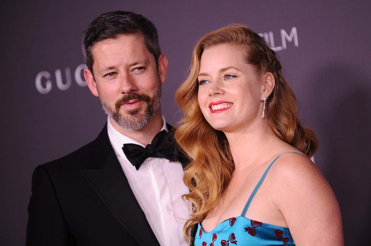 amy and her husband, darren le gallo. (photo credit: getty images)