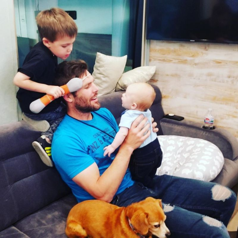 Mike Fisher Kids