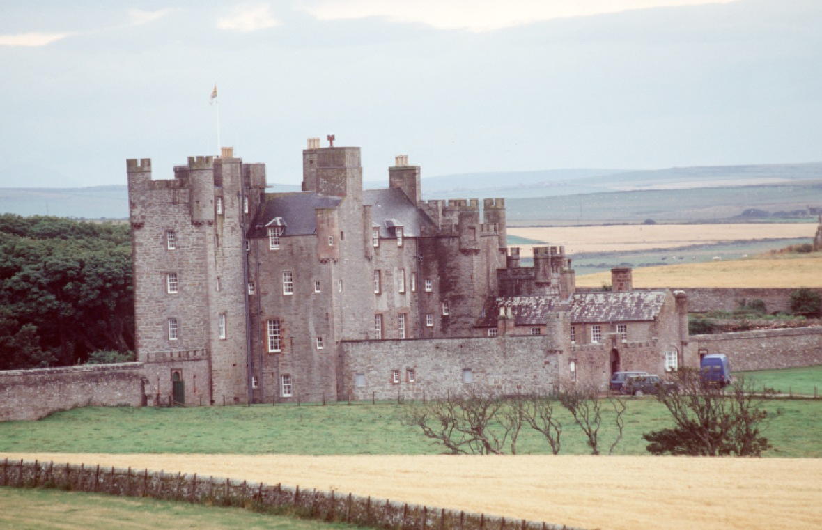 the castle of mey in scotland. (photo credit: getty images)