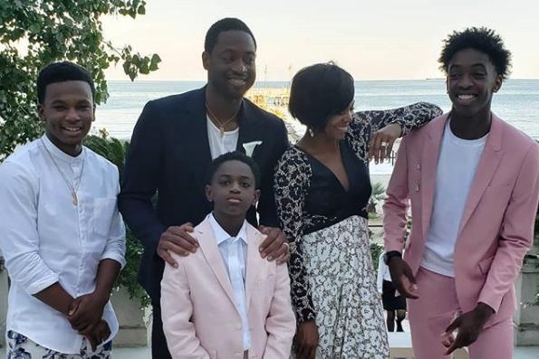 Dwyane Wade Praises Wife Gabrielle Union for Being the Best Stepmom