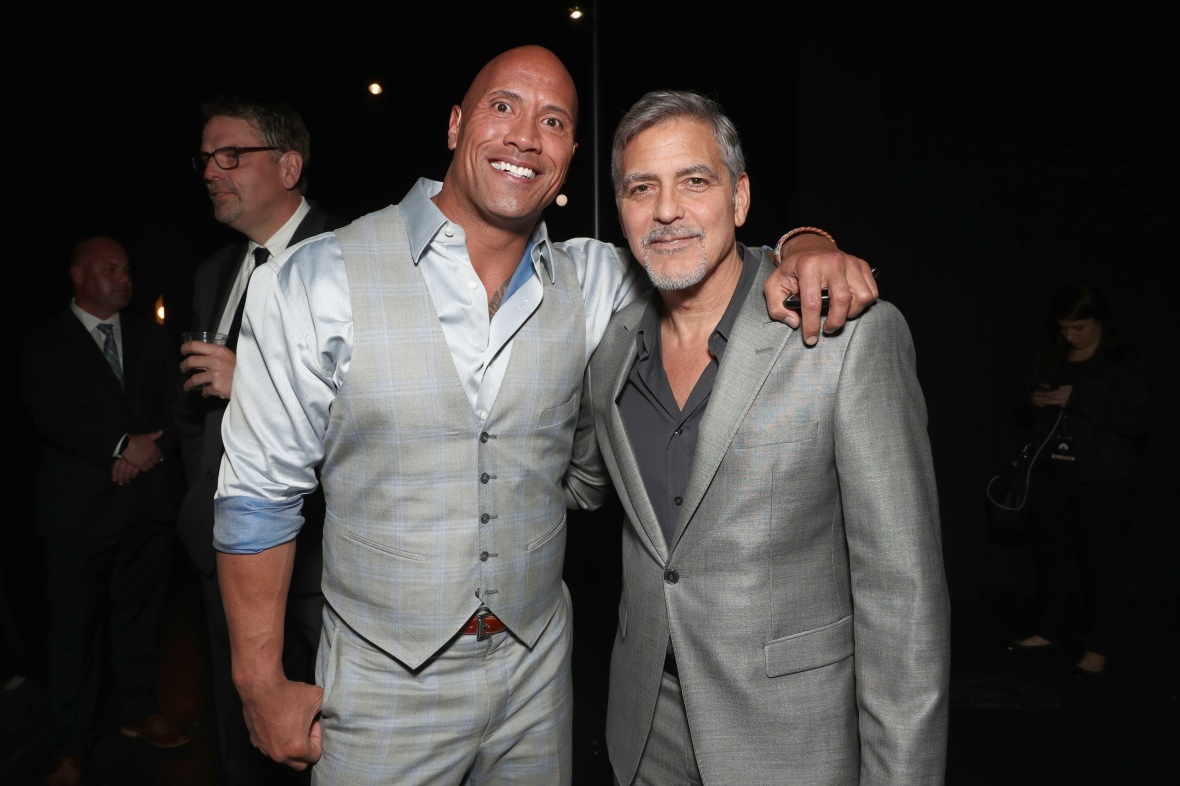 george-clooney-dwayne-johnson