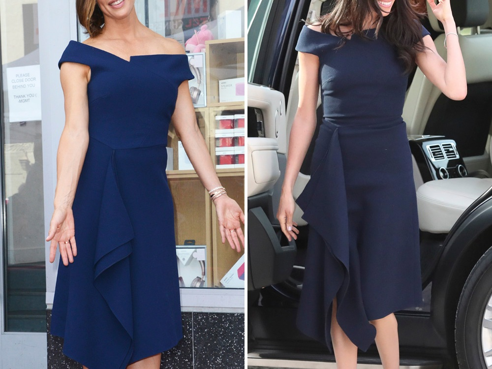 jennifer garner meghan markle same dress