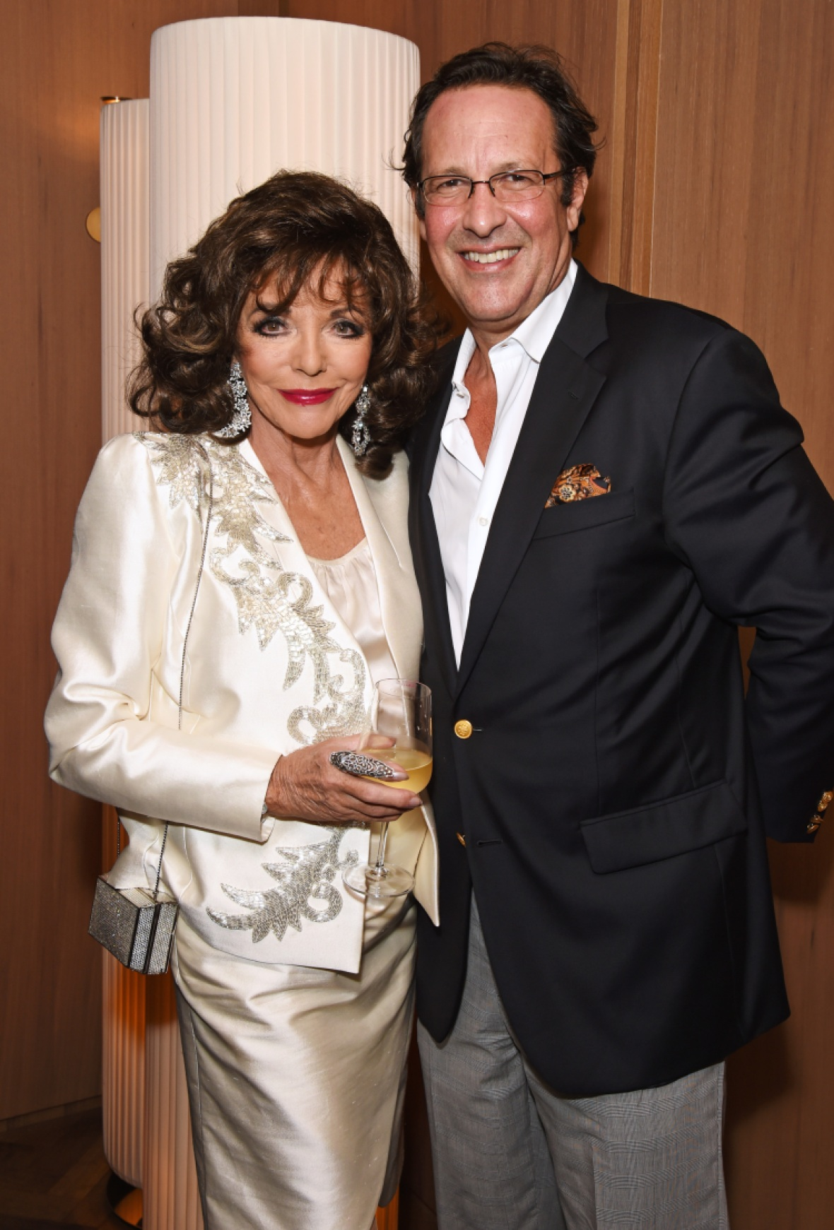joan and her husband, percy. (photo credit: getty images)