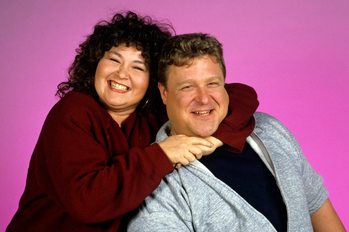 john goodman and roseanne barr