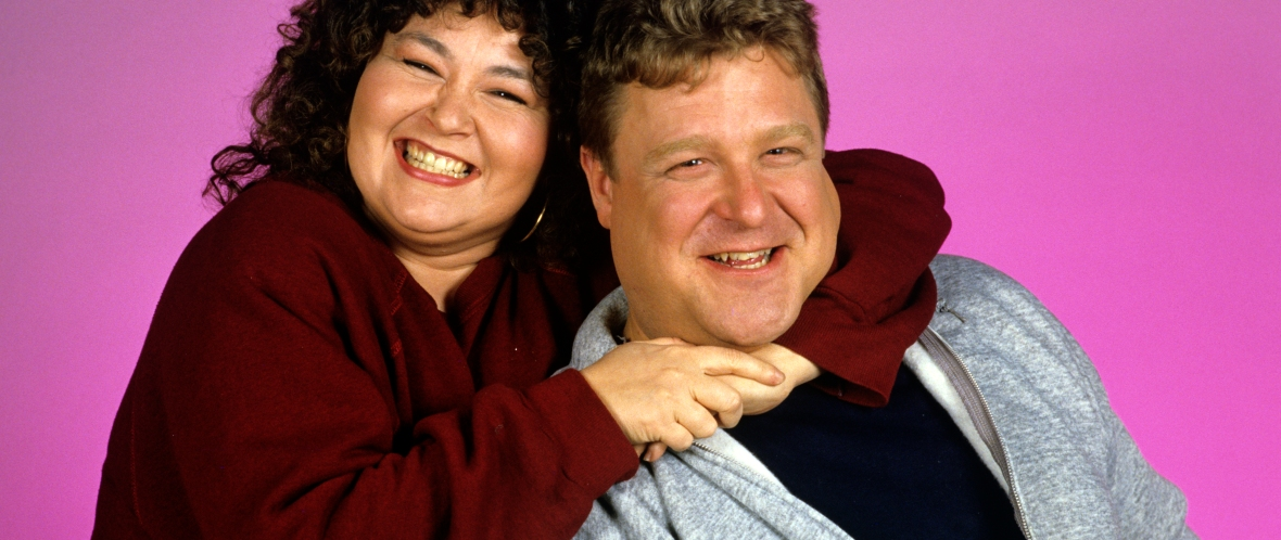 john goodman and roseanne barr