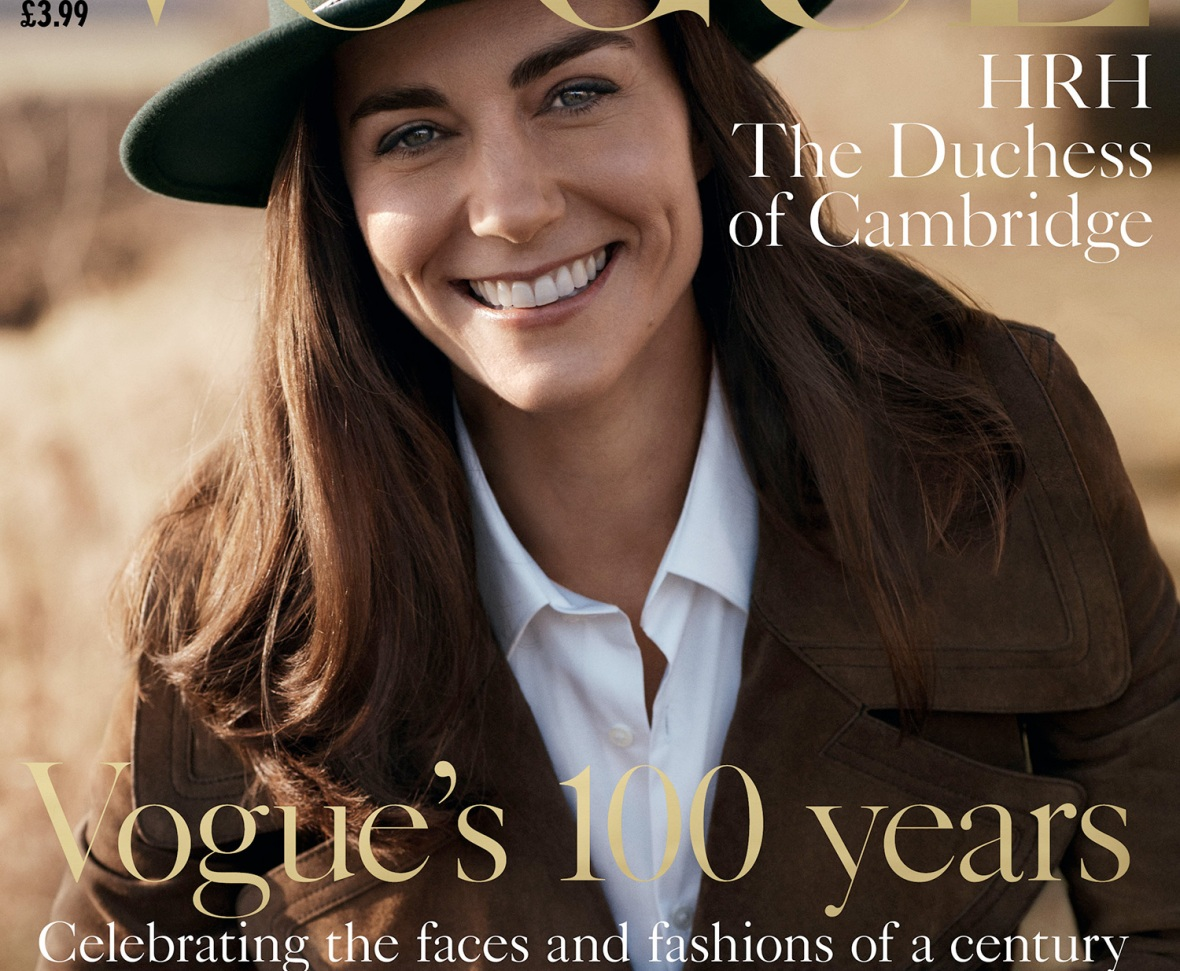 kate middleton vogue cover
