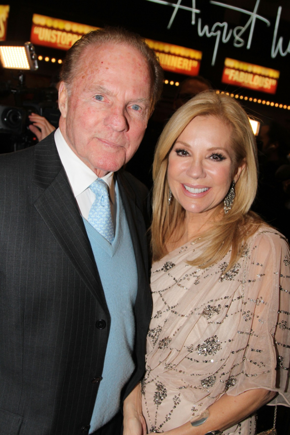 kathie lee and frank. (photo credit: getty images)
